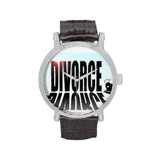 Divorce dwarfing small man wrist watch