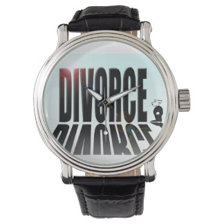 Divorce dwarfing small man watch