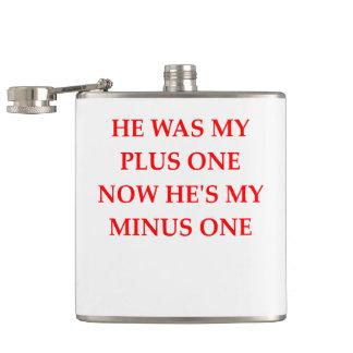 divorce hip flask