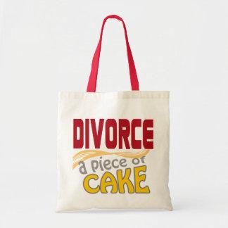Divorce - Piece of Cake Canvas Bag