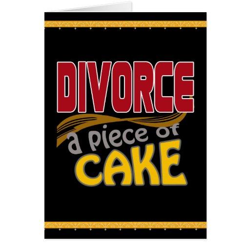 Divorce - Piece of Cake Cards