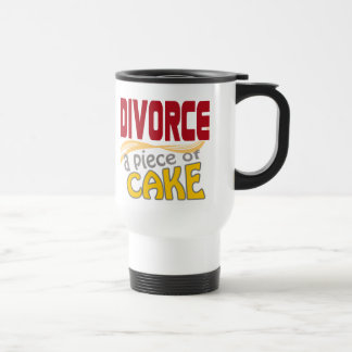 Divorce - Piece of Cake Stainless Steel Travel Mug