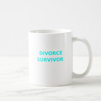 Divorce Survivor - 2 - Cyan Coffee Mug