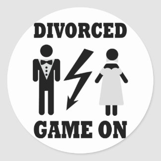 divorced game on icon stickers