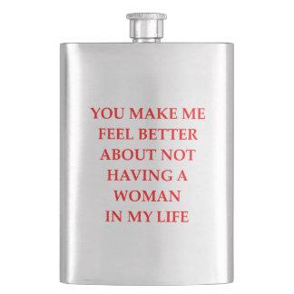 divorced hip flask