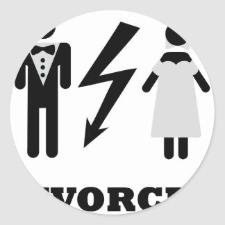divorced icon stickers