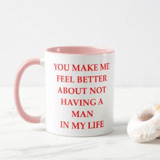 divorced mug