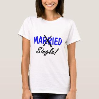 Divorced Single (Blue) T-Shirt