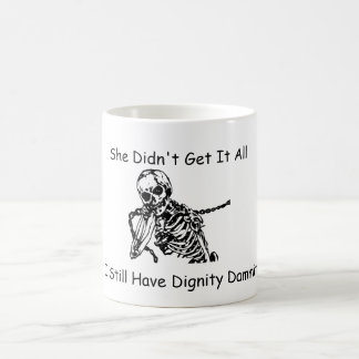 Divorced Skeleton Man Mug