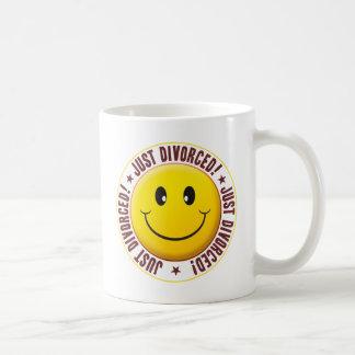 Divorced Smiley Coffee Mugs
