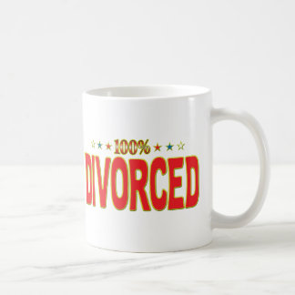 Divorced Star Tag Mugs