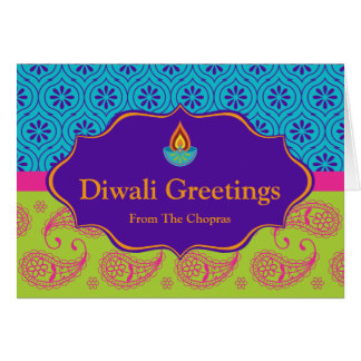 Diwali Greeting Card with editable text