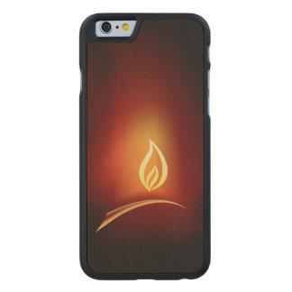 Diwali Greeting Carved® Maple iPhone 6 Slim Case