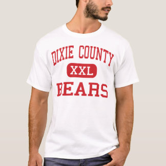 Dixie County - Bears - High - Cross City Florida T-Shirt
