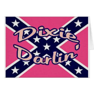 Dixie Darling Greeting Card
