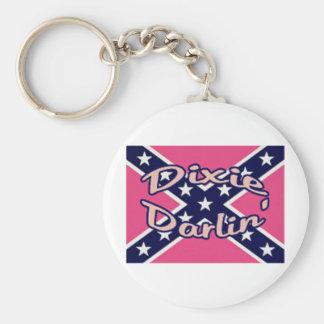 Dixie Darling Keychain
