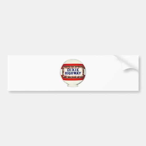 Dixie Highway - Vintage Advertising Bumper Stickers
