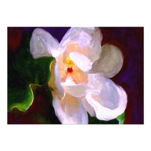 "Dixie Lane Magnolia 5x7"" Mini Prints Custom Announcement"
