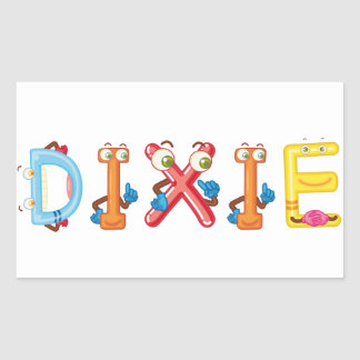 Dixie Sticker
