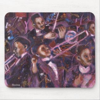 Dixieland Jazz Mousepad