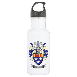 Dixon Family Crest Coat of Arms 532 Ml Water Bottle