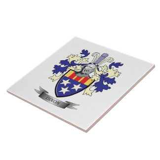 Dixon Family Crest Coat of Arms Tile