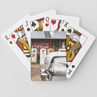 Dixon, New Mexico, United States. Vintage car Playing Cards