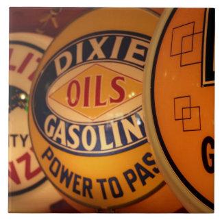 Dixon, New Mexico, United States. Vintage Large Square Tile
