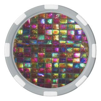 DIY 256 background n edge colour options dropdown Set Of Poker Chips