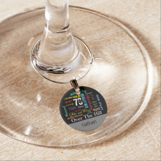 DIY Age | 70th Happy Birthday | Milestone Wine Charm