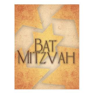 DIY Bat Mitzvah design Post Cards