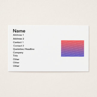 DIY Business Cards to Design Your Own