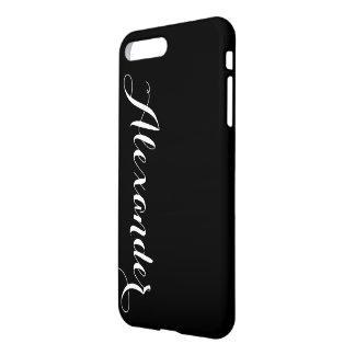 DIY Color Background, Name Monogram iPhone 8 Plus/7 Plus Case