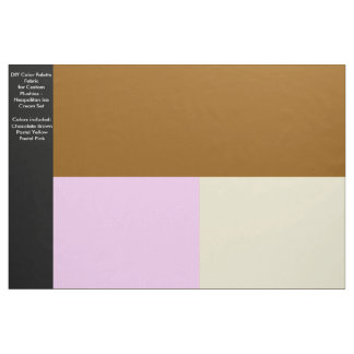 DIY Color Palette Fabric for Plushies - Neapolitan