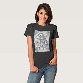 DIY coloring: Young Familiar Dragon: T-shirts