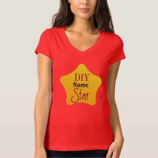 DIY Crafts Gardener Competition Yellow Star Shirts
