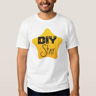 DIY Crafts Gardener Competition Yellow Star T Shirts