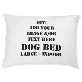 DIY Create Your Own Custom Dog Bed Large V02B