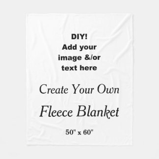 DIY Create Your Own Custom Fleece Blanket V02
