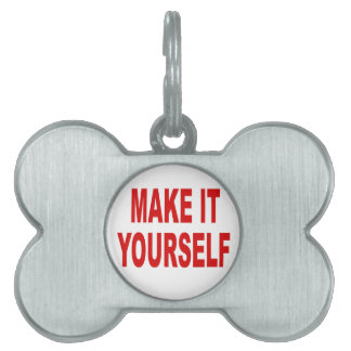 DIY Create Your Own Custom Silver Pet Tag