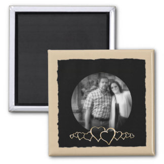 DIY Create Your Own | Personalized Photo Frame Square Magnet