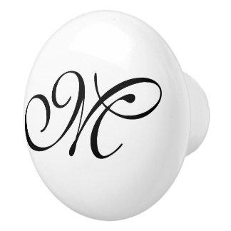 DIY - Customize your monogram & ideas Ceramic Knob