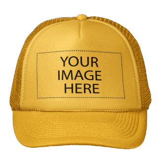 DIY Design Your Gift Item Yellow or Other Colors Mesh Hat