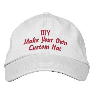 DIY Design Your Own Custom Accesssory Baseball Cap