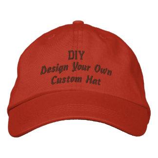DIY Design Your Own Custom Baseball Hat V02 Embroidered Baseball Caps