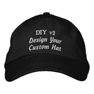 DIY Design Your Own Custom Baseball Hat V02A Embroidered Hat