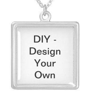 DIY - Design Your Own Square Pendant Necklace