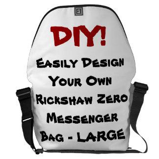 DIY! Design Your Own Rickshaw Messenger Bag