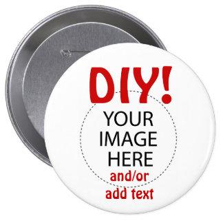 DIY Design Your Own Zazzle Gift Item 10 Cm Round Badge