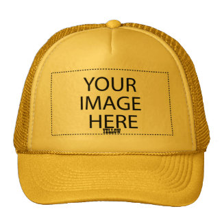 DIY Design Your Own Zazzle Gift Item V05 YELLOW Cap